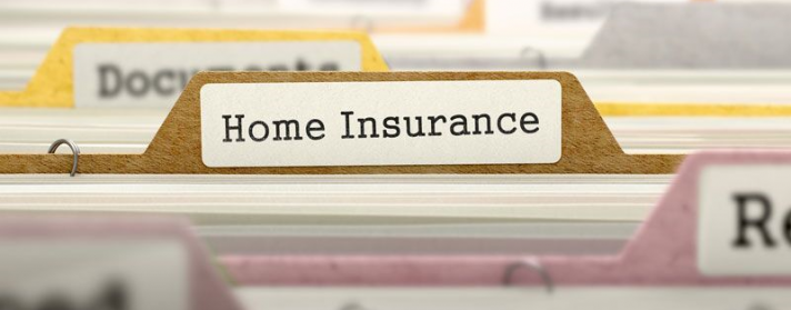 "file labelled ""home insurance,"" main home insurance protections"